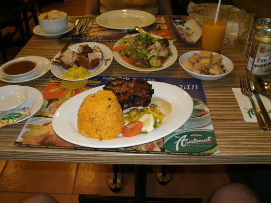 Aristocrat Restaurant : Our dissappointing meal