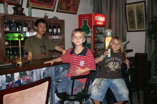 Beijing Hutong Culture Inn: bar