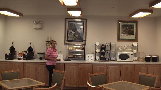 Best Western Blackfoot Inn: BW Continental Breakfast ok