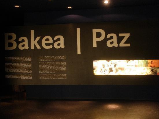 Gernika Peace Museum Foundation: ¿Qué es la paz?