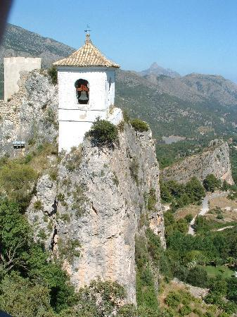 Calpe, Spagna: View of the Bell Tower at Gudalest