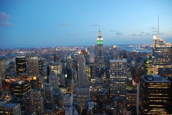 Hilton Garden Inn Times Square: Vue de Top of the Rock