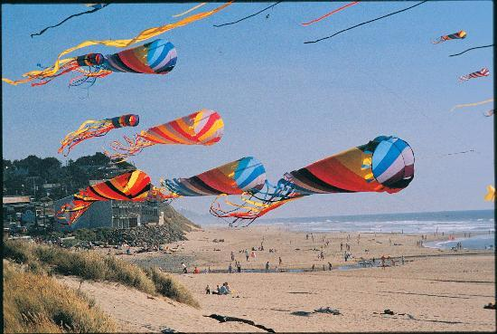 Lincoln City is World Famous for it's Kite and Kiting Weather