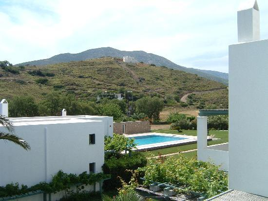 Skyros, กรีซ: A view from the balcony