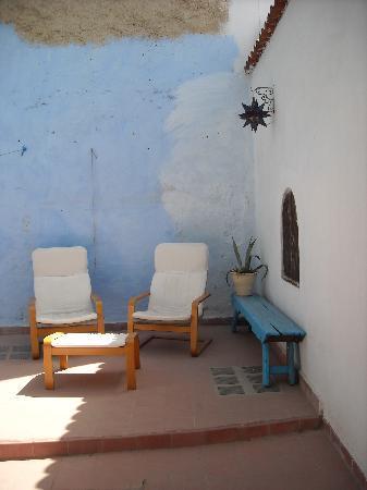 Dar Dalia: Terraza habitación