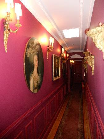 Deauville, Francia: couloir premier étage