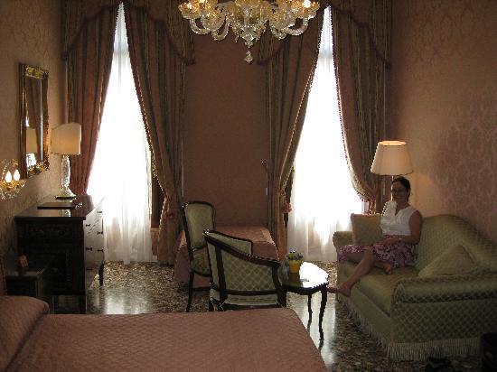 Casa Pisani Canal: Chambre (La Suite)