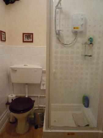 The Graystoke: toilet and shower