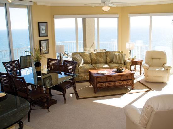 Fully equipped 1 2 3 bedroom condos picture of tidewater - Two bedroom condo panama city beach ...