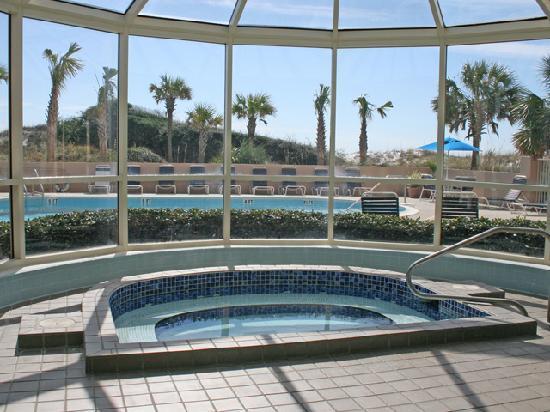 Indoor Hot Tub Picture Of Tops 39 L Beach Racquet Resort