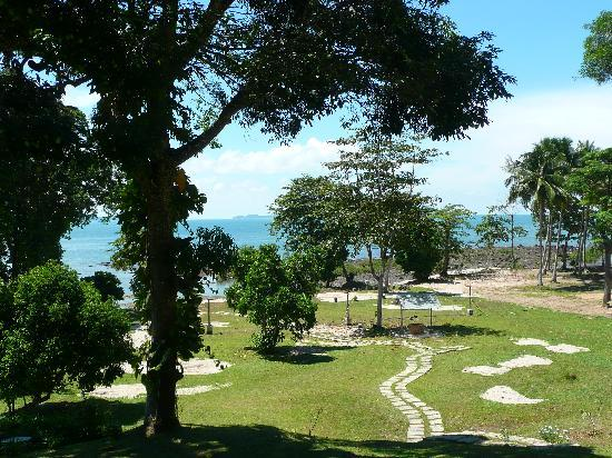 Teluk Iskandar Inn: View fr the balcony