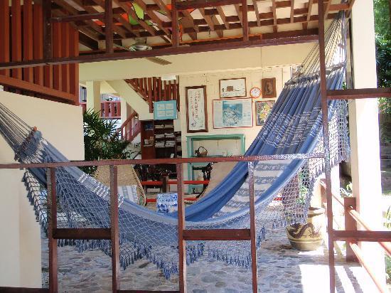 Teluk Iskandar Inn: hammock
