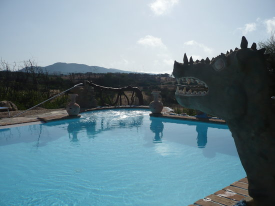 Villa Savina: La piscina