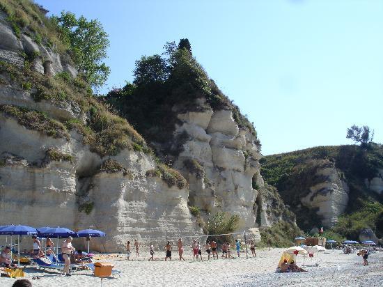 Rocca Nettuno Tropea: la plage de l'hotel