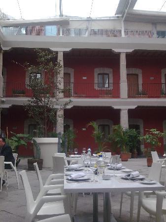 Restaurante 1620 Hotel de Cortes Ciudad de Mexico