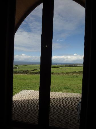 Treligga, UK: view from the pod