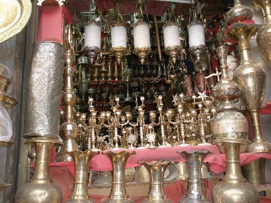 Sanaa, Yémen : copper market