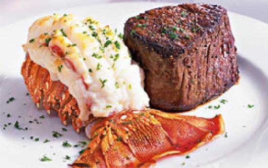 Cork & Cleaver Steakhouse: Filet & Lobster