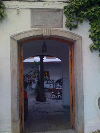 The main entrance to Cortijo del Pino