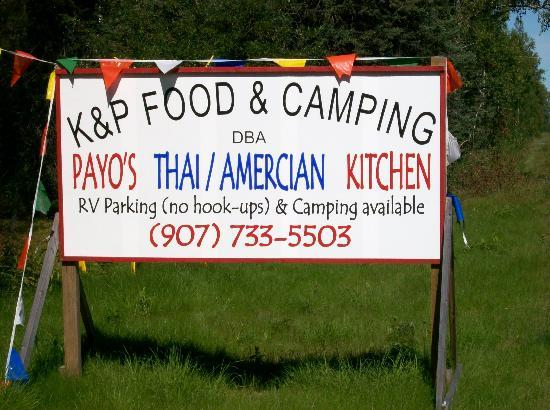 Payo's Thai Kitchen and Cabins: Along the Talkeetna Spur off of Parks Hwy.