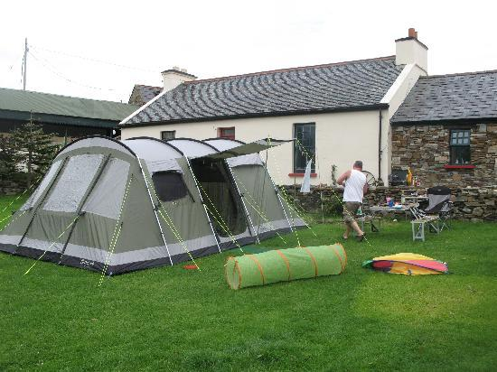 Camping at Corcreggan Mill