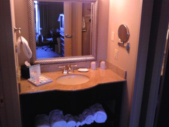 Four Points by Sheraton Knoxville Cumberland House: sink and vanity
