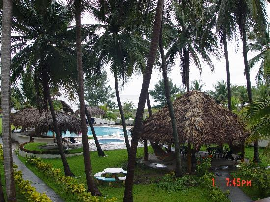 Azul Surf Club : Our balcony view