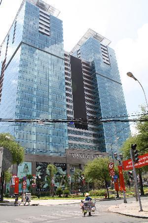 Dong Khoi view of Vincom Center