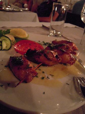Restaurant ALKA: Stuffed squid ...