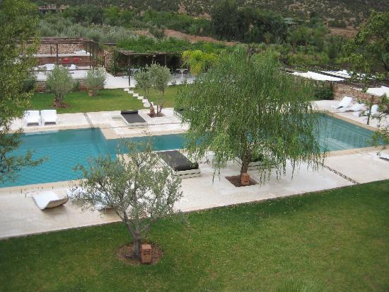 Domaine Malika: jardin
