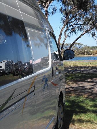 Nambucca Heads, أستراليا: Camper Van