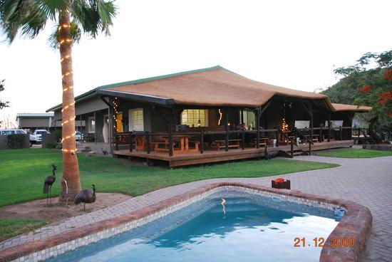 Noordoewer, Namibia: Het hoofdgebouw van de B&B