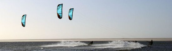 Ad Dakhla, Sahara occidental : Flat water paradise