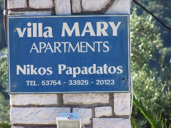 Villa Mary Apartments: Villa Mary contact details