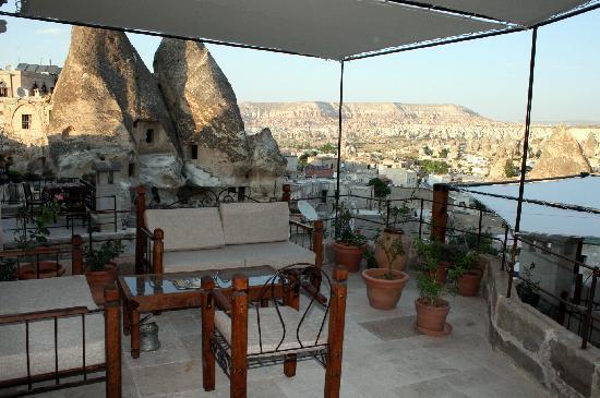 Kelebek Special Cave Hotel: Terraza Bar & Restaurante