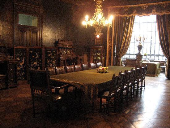 Punta Arenas, Chili: Speisezimmer im Palacio Sara Braun