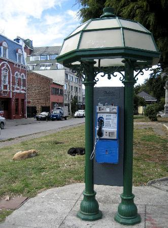 Punta Arenas, Chili: Telefonhäuschen