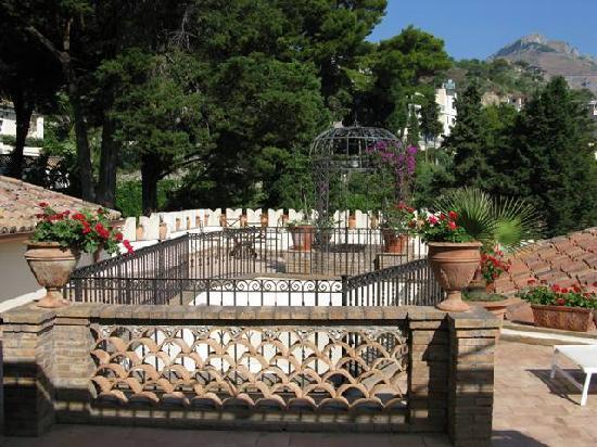 Belmond Villa Sant'Andrea: La terrazza della nostra camera