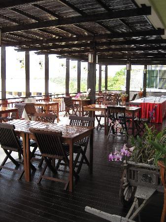 The Royal Nakara : Restaurant / Frühstück