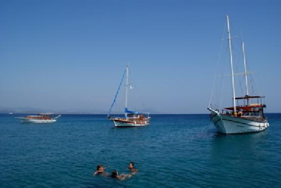 Yilmaz Hotel: Boat trip