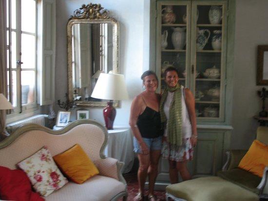 La Maison de Carlotta : io e Aline