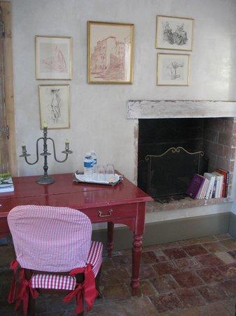 La Maison de Carlotta : un dettaglio della stanza