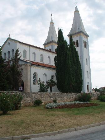 Medulin, Kroasia: Kirche de Hl.Agnes