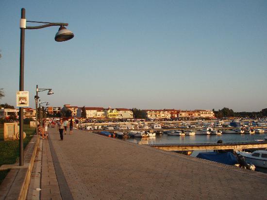 Medulin, Kroatien: Promenade