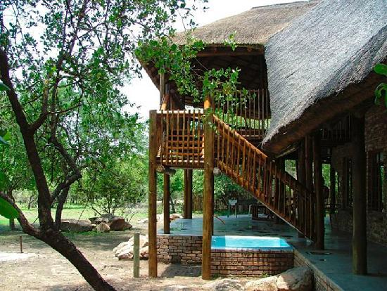a Zaganaga Kruger Lodge: Cool down