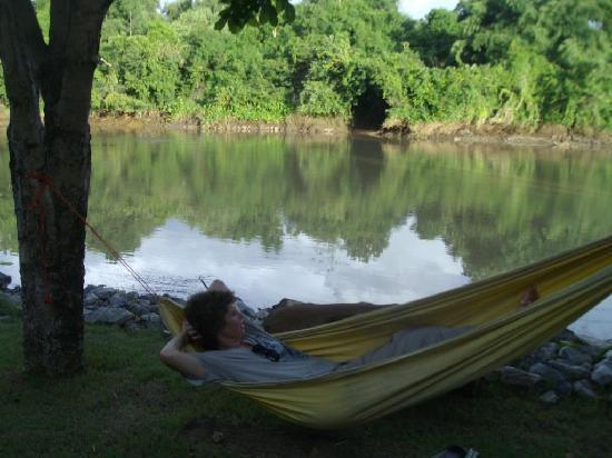 Xanadu  2008: Relaxing near the river