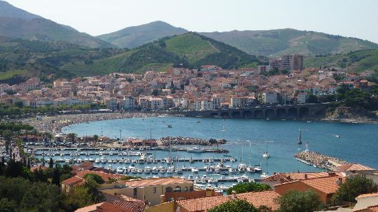 Banyuls-sur-mer, France: vue du balcon de la chambre
