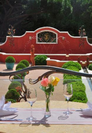 """Chateau De La Messardiere: restaurant """"Terra-Cotta"""""""