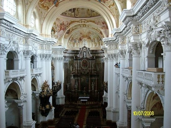 Stift St. Florian - photo taken from the organ loft