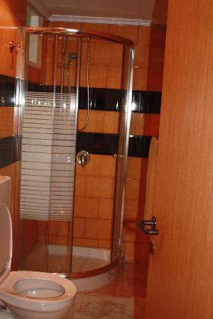 New Imperial Hotel: the bathroom in our room